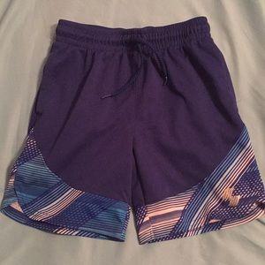 Boys blue athletic shorts